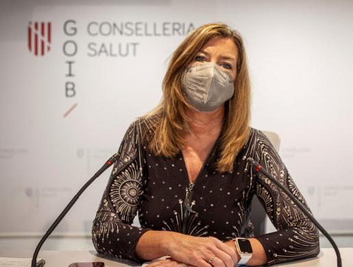 Patricia Gómez, consellera de Salut del Govern balear.