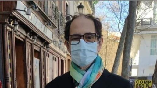 Jordi Sánchez ha compartido una fotografía al salir del hospital.