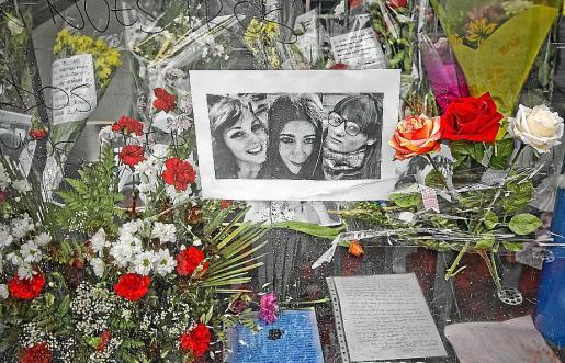 Recuerdo para tres de las cuatro víctimas mortales en el Madrid Arena.