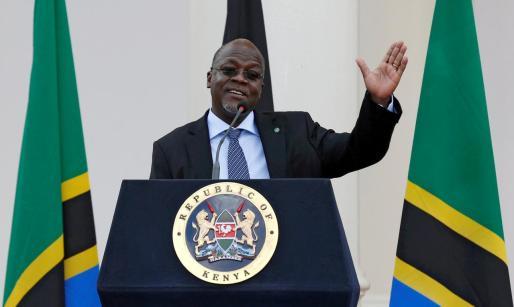 El presidente de Tanzania, John Magufuli.