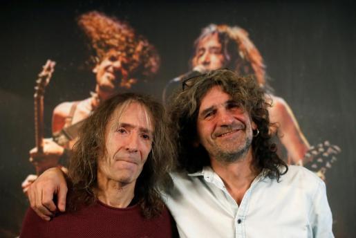 Los líderes de Extremoduro, Robe Iniesta (i) e Iñaki Antón, en una imagen de archivo.