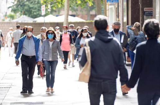 La obligatoriedad de llevar mascarilla es una de las consecuencias de la pandemia.