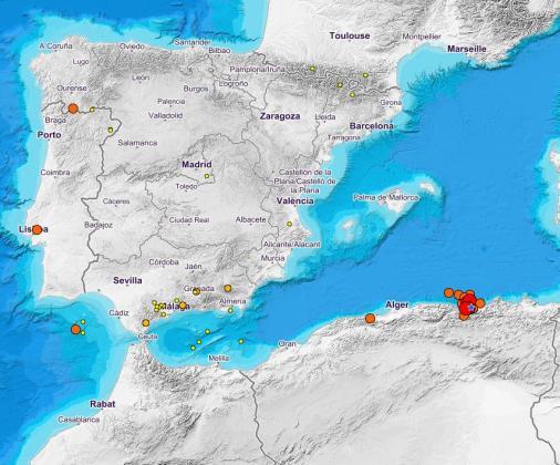 El epicentro se situó entre las ciudades argelinas de Bugía y Jijel, y la escala a la que se pudo sentir en las localidades mallorquinas fue muy leve.