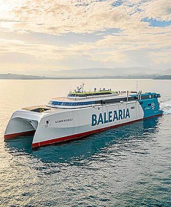 Operará la ruta Dénia-Eivissa-Palma.