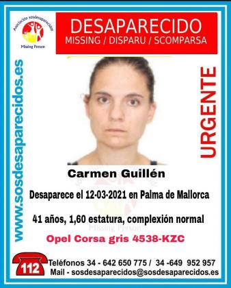 🆘 DESAPARECIDA #Desaparecidos #sosdesaparecidos #Missing #España #PalmadeMallorca https://t.co/Gw8MWWvKRd