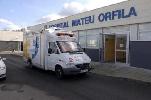 La paciente acudió al Servicio de Urgencias del Hospital Mateu Orfila el pasado domingo con una cefalea intensa.
