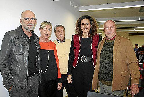 Javier Rodós, Begoña Madrid, Basilio Escudero, Carolina Estarás y Onofre Prohens., Begoña Madrid, Basilio Escudero, Carolina Estarás y Onofre Prohens.