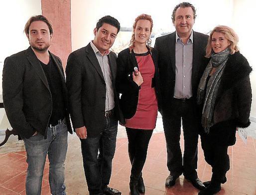 Mariano Saez, Raul Fernández, Carina Kuster, Ramón Servalls y Amy Dunn.