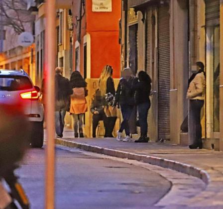 Imagen de archivo de prostitución en Palma.