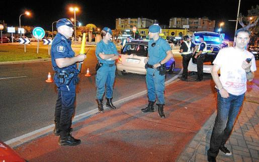 La Guardia Civil del cuartel de Pollença detuvo a los sospechosos de la paliza del Port d'Alcúdia.