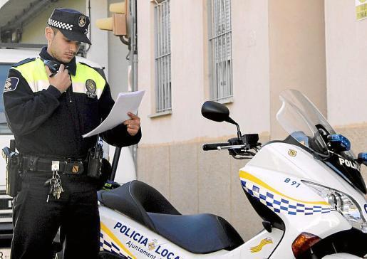 Los agentes de la Policía Local de Palma llevaron a cabo la detención.
