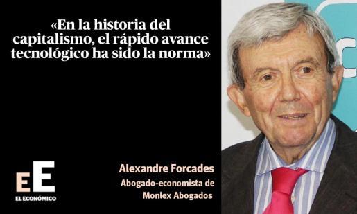 Alexandre Forcades, abogado-economista de Monlex Abogados.