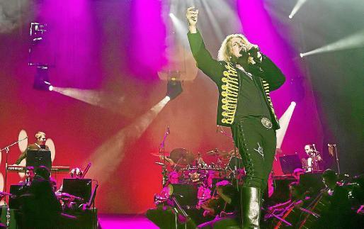 Imagen promocional del espectáculo 'Queen Symphonic Raphsody'.