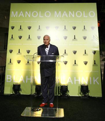 Manolo Blahnik, en una imagen de archivo.