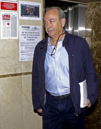 El juez instructor del caso Nóos, José Castro, en los juzgados de Palma .