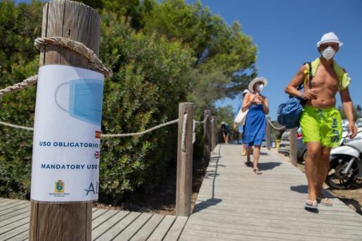 Spanien: Gesichtsmasken jetzt überall Vorschrift auch am Strand