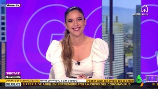 Tatiana, hija de Alfonso Arús: «Me duele que digan que soy una enchufada»