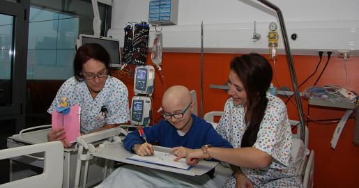 Imagen de archivo de la unidad de Oncología Pediátrica de Son Espases.