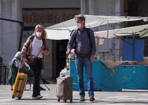 Los turistas han vuelto a Mallorca en Semana Santa.