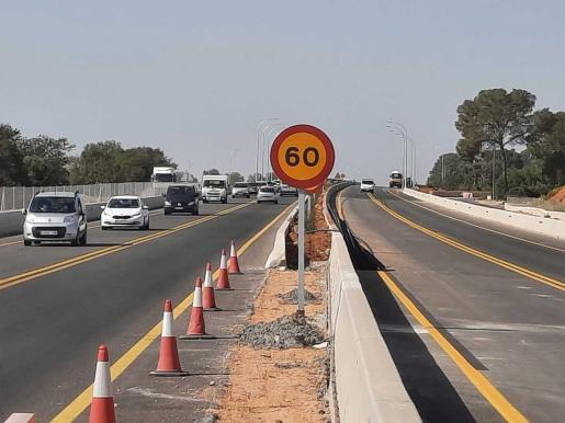 Una imagen tomada a principios de marzo de las obras de la prolongación de la autopista de Llevant hasta Campos, el que de momento es el último gran proyecto viario del Consell de Mallorca. Las obras están muy avanzadas y se encuentran en la fase final.