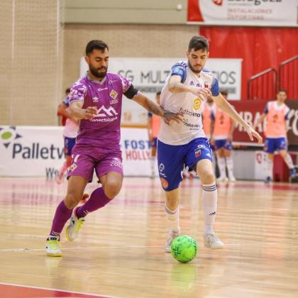 El Palma Futsal se mantiene así en la pugna por los puestos altos de la liga.