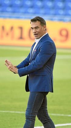 Luis García Plaza subraya el valor del punto obtenido en un duelo «con una parte para cada equipo» y ante un rival con «jugadores 'top' de la categoría».