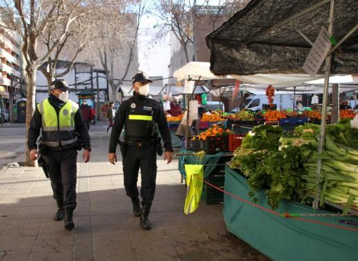 Imagen de archivo de la Policía de Barrio.