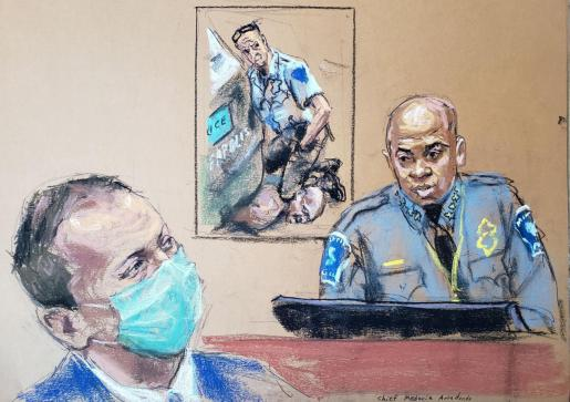 Sexto día de juicio por la muerte de George Floyd.