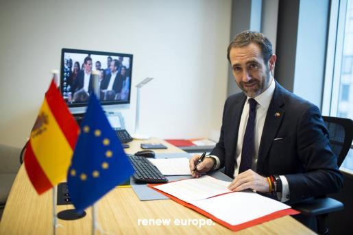 Imagen de archivo del eurodiputado de Cs.