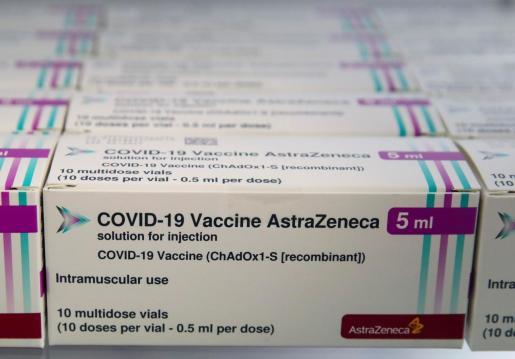 Lotes de vacunas de Astrazeneca.