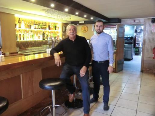 Ramón y Anthony están al frente del restaurante Paseo Mallorca 30.