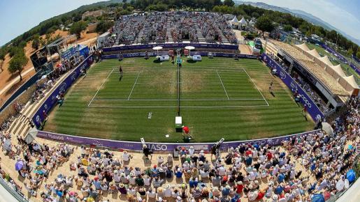 Panorámica del Mallorca Open durante una de sus finales.