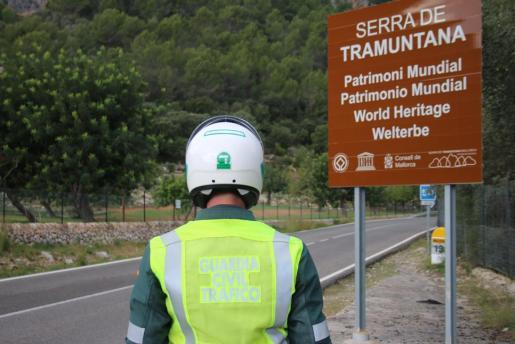 Fue detectado por agentes del Sector de Tráfico que realizaban un control estático de velocidad