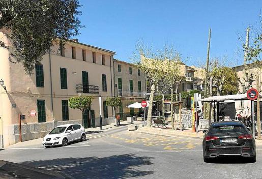 El presunto incidente ocurrió en la plaza de la Vila de Santa Margalida.