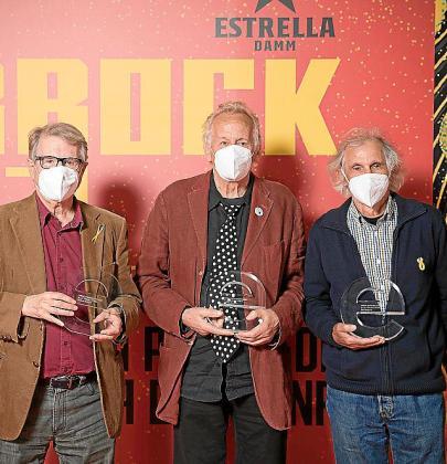 Jaume Arnella, Vicent Torrent y Biel Majoral.