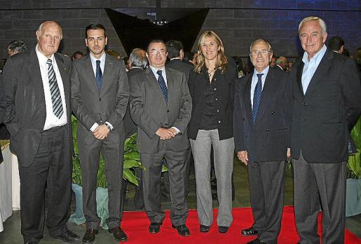 Martín Mora, Javier Morente, Juan Cabrera, Teresa Palmer, Fernando Alzamora y Lluís Piña.