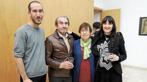 Antoni Miquel Morro, Guillem Morro, Xisca Màs y Giulia Valle.