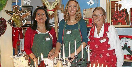 Gisela Ostrovsky, Maria Modie y Ulla Jeiker.