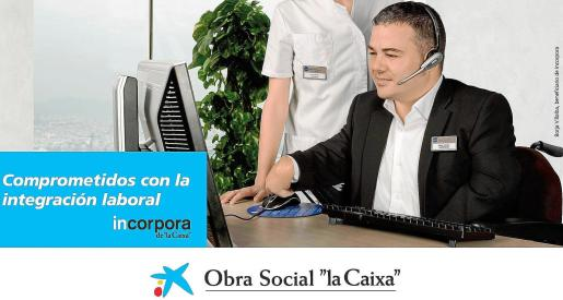Fotograma del anuncio de La Caixa donde particpa Borja Villalba.