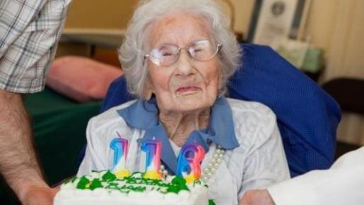 Nacida el 26 de agosto de 1896, Besse Cooper logró la distinción de ser la persona más mayor del Guinness World Records en enero de 2011.