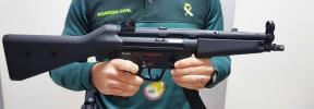 La Guardia Civil interviene dos fusiles de airsoft en el aeropuerto de Palma