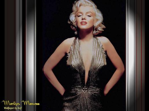 Marilyn Monroe, la belleza rubia del cine.