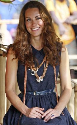 Catalina Middleton, en una imagen de archivo tomada el pasado mes de septiembre durante su periplo por Asia.