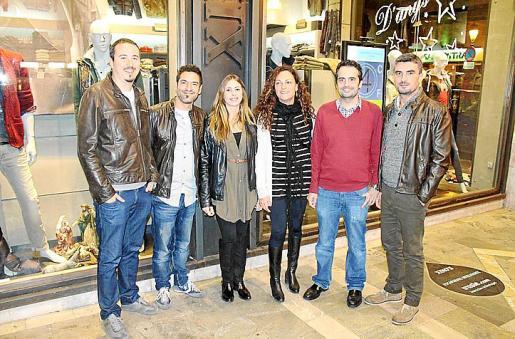 Ricard Peitx, Saúl Benejama, Rosana Núñez, Aina Perelló, Xavi Varona y Toni Perelló.
