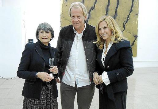Gabrielle Lichter, Matthias Kuhn y Elena Ordinas.