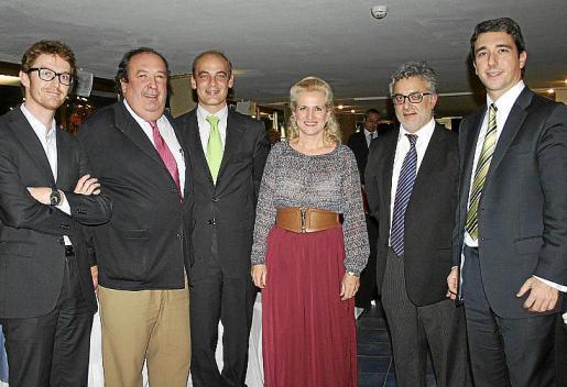 Diego Fanjul, Rafael Domingo, Fernando Feltrer, María Homar, Diego Fuster y Felipe García.