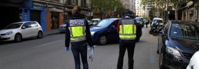 Detenida en Palma por conducir ebria y con una niña en el interior del coche