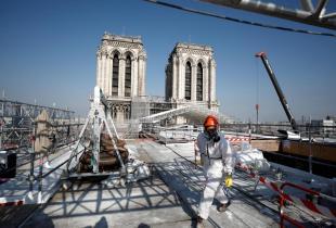 Notre Dame, dos años después del incendio