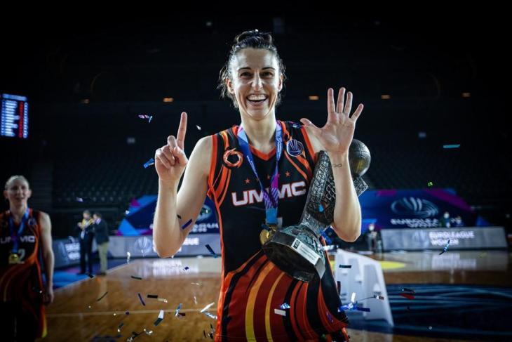 Baloncesto: Alba Torrens gana su sexta Euroliga