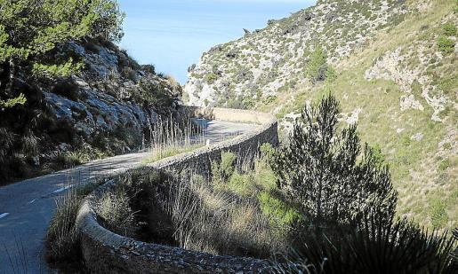 En Artà, los presos construyeron el camino que une Betlem con la Talaia Moreia.